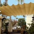 Ocelova pergola shade slide on wire