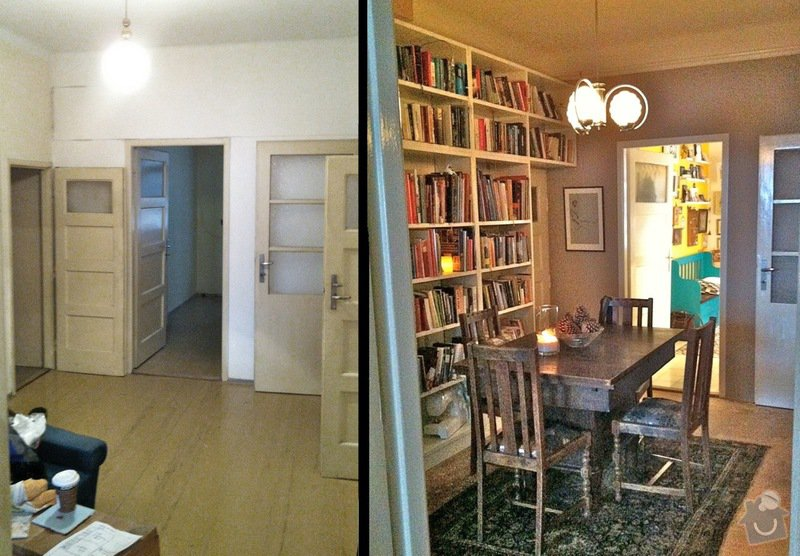 Rekonstrukce: Dining_room_before_and_after