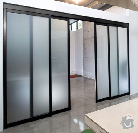 Desing, purchase and install partitioning of room: moveable_doors
